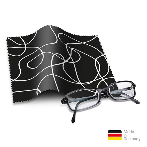 Brillentücher mit Designmotiv Black and White