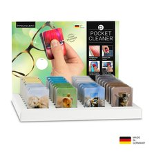 PocketCleaner®-Thekendisplay Animals mit 32 PocketCleaner