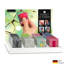 PocketCleaner®-Thekendisplay Designmotive mit 32...